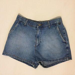 Vintage 90s Guess Denim Jeans Shorts Size 28